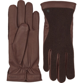 Hestra Saga Handschuhe espresso/chestnut